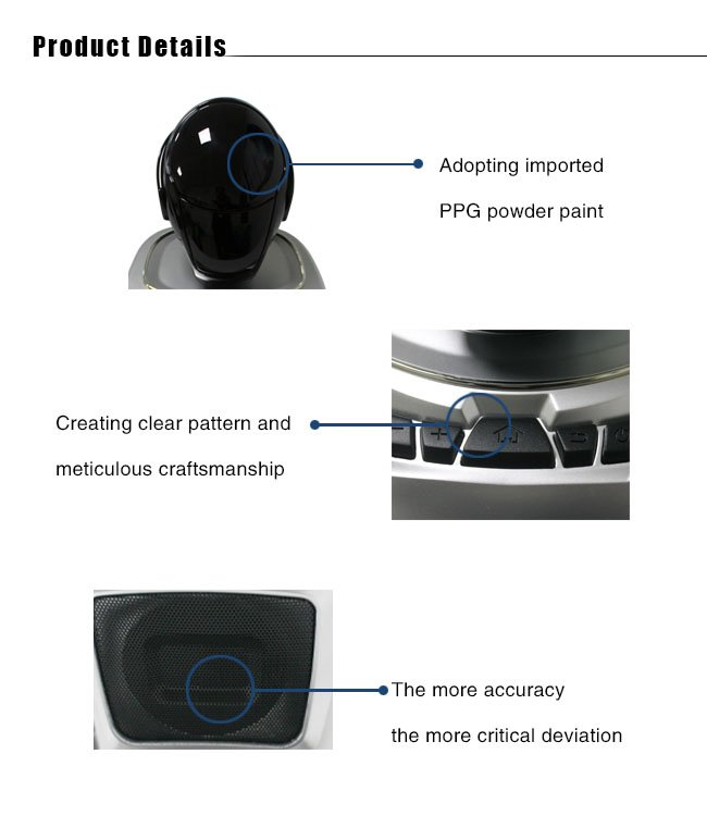 Tuowei-High-Tech Voice-Controlled Robot Rapid Prototype with ABS Material