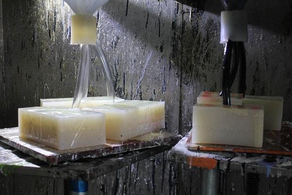 Silicone rubber mould