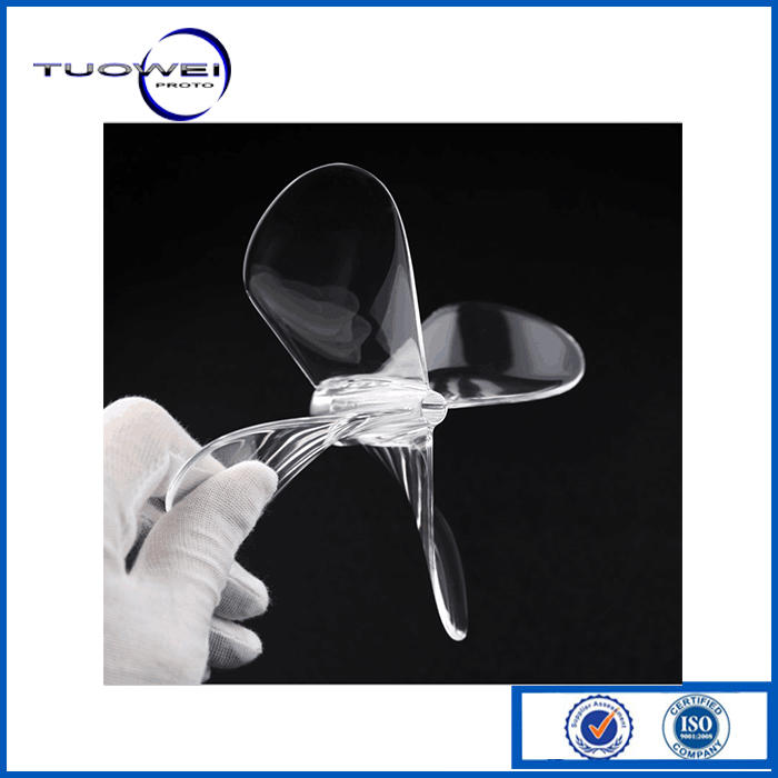 Tuowei rapid transparent pmma prototypes factory factory for metal-1