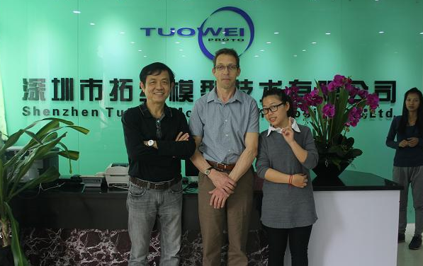Tuowei-British Powerbars Bob Mr Hicks Visit Our Company-tuowei Model-1