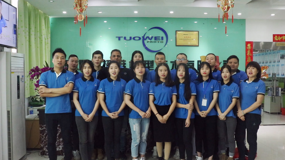 New Year Greeting from Tuowei Prototype Precision Machining Factory