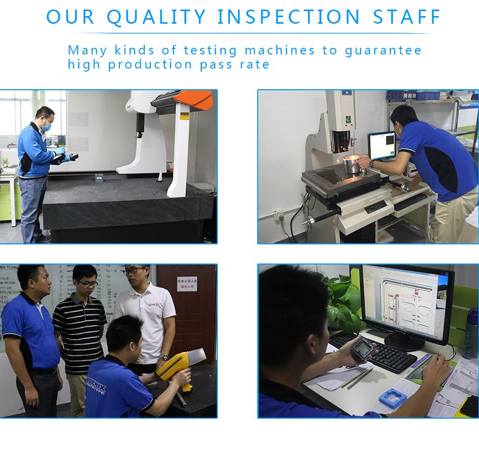 产品拓维中国的OEM数控加工高精度铝金属原型与ISO9001:2009-IM