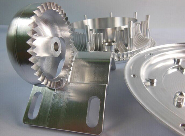 High precision CNC aluminum machining parts for motorcycle parts