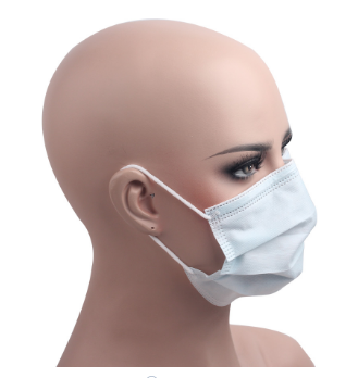 In Stock Earloop 3 Ply Disposable Face Mask