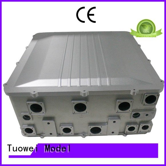 prototyping aluminum parts for testing equipments prototype devices for aluminum Tuowei