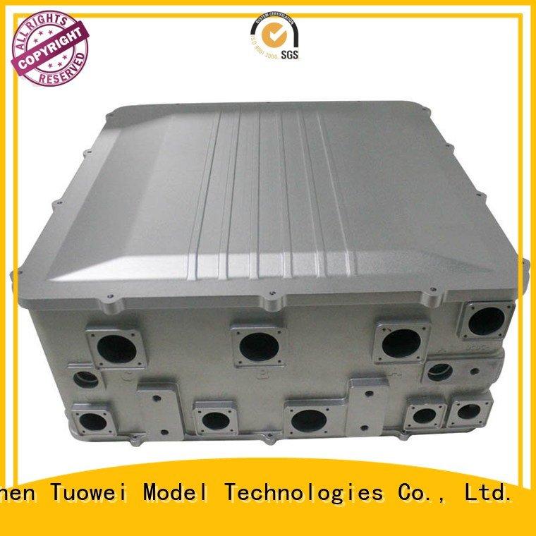 aluminum alloy rapid prototype mobile for aluminum Tuowei