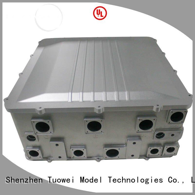 Tuowei parts cnc prototyping aluminium service mockup