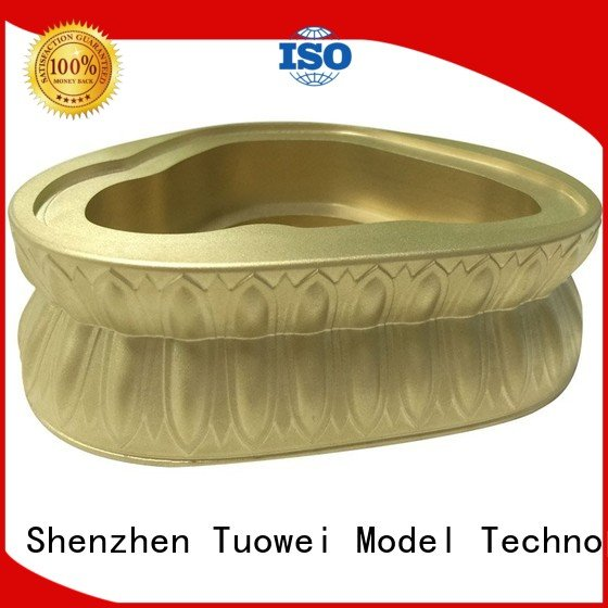 precision transparent panel brass base of buddha prototype helmet Tuowei