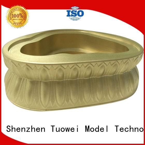 precision transparent panel brass base of buddha prototype helmet Tuowei