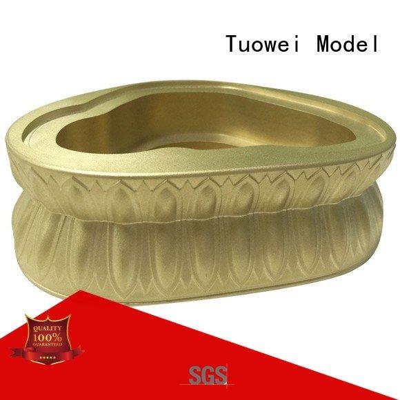 Hot model brass prototype factory machining Tuowei Brand