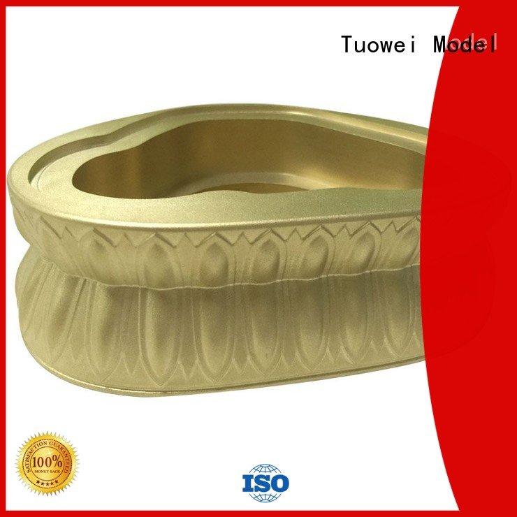 Tuowei rapid prototype development brass for aluminum