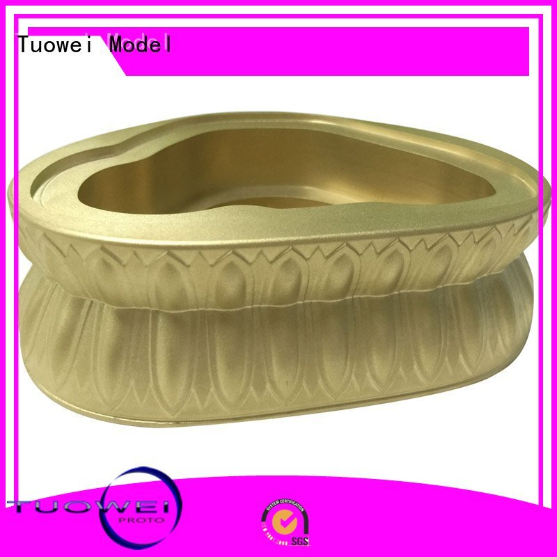Tuowei medical brass prototype factory customized for industry