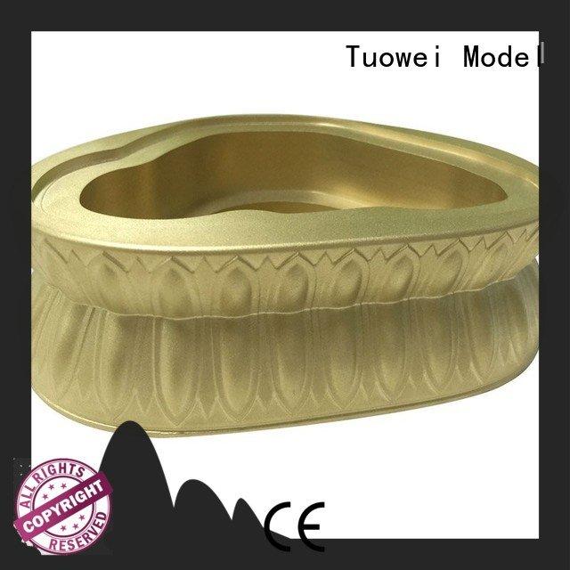 prototype brass base of buddha prototype customized for industry Tuowei