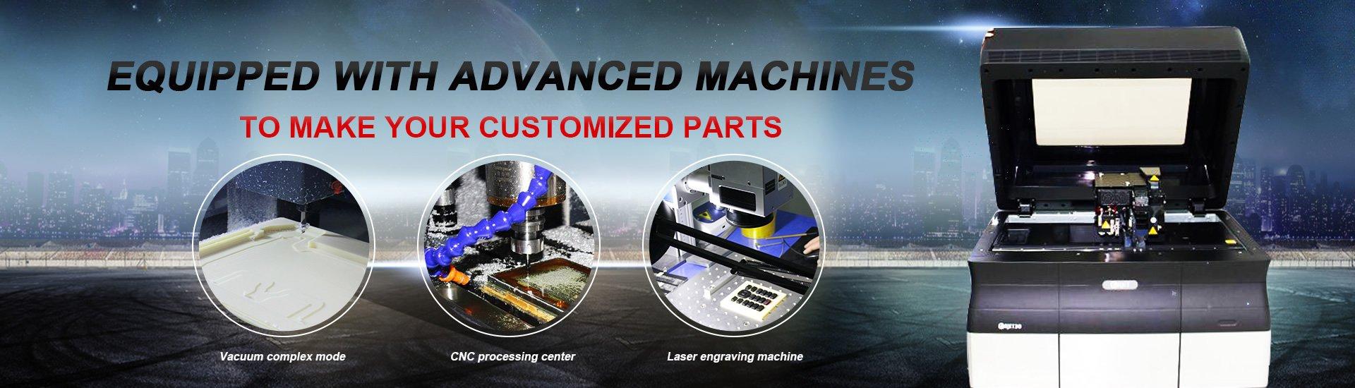 Tuowei High Precision Aluminum Components Parts Aluminum Alloy Prototype image4