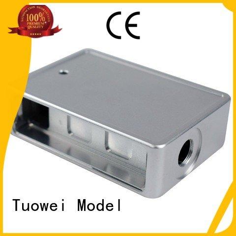 Tuowei audio aluminum prototype machining services design for industry