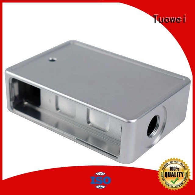 mobile cooking stainless small batch machining precision parts prototype Tuowei manufacture