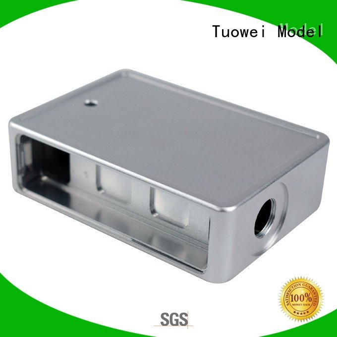 Tuowei rapid aluminum parts for testing equipments prototype pen for industry