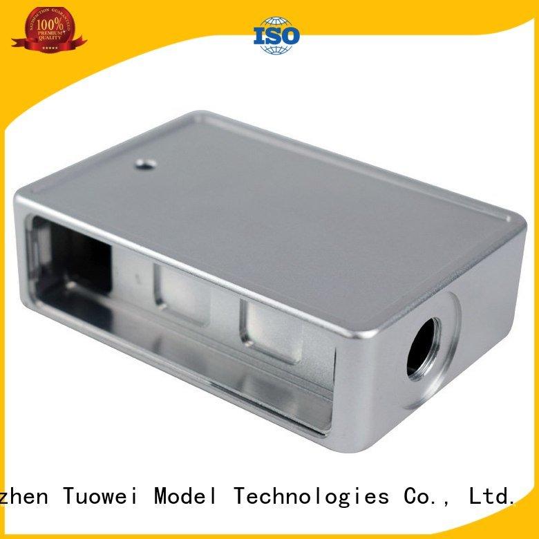 Tuowei cnc cnc machining aluminum prototype customized for aluminum
