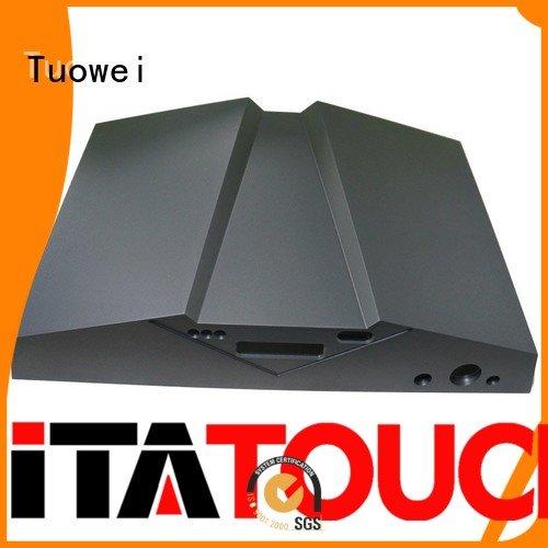 cnc aluminum prototype factory machining for metal Tuowei