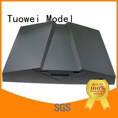 Tuowei testing aluminum rapid prototype mockup for industry
