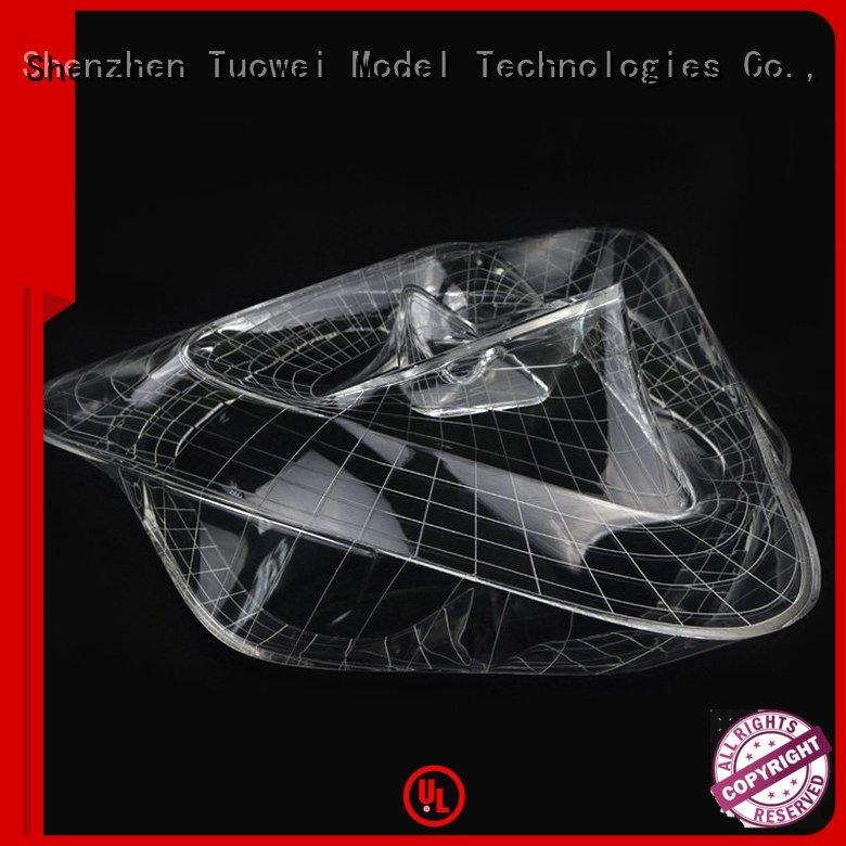 Tuowei rapid pmma rapid prototype supplier for plastic