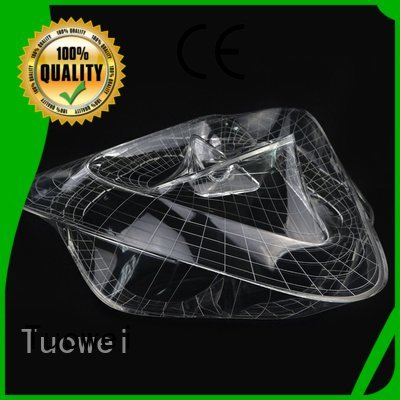 Wholesale cnc shaped transparent pmma prototypes factory Tuowei Brand