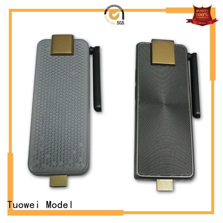 Tuowei rubber prototype cnc machining mockup