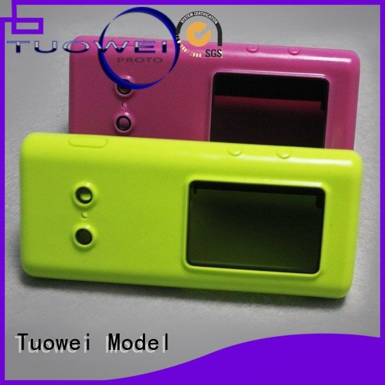 Tuowei rubber vacuum casting process in rapid prototyping customized for industry
