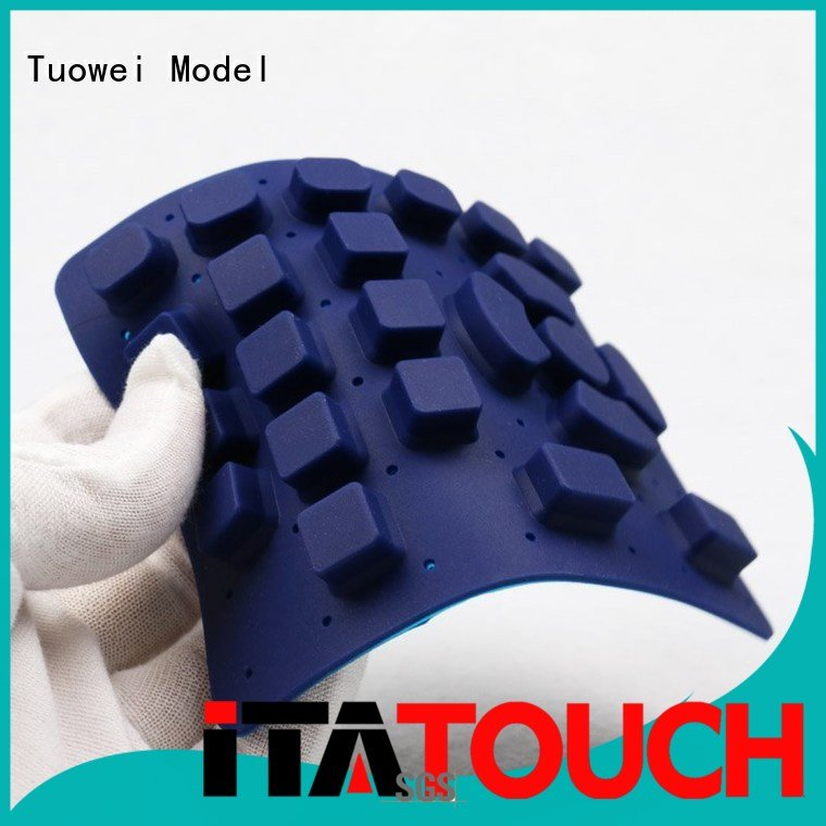 electrical silicone prototype keypress for industry Tuowei