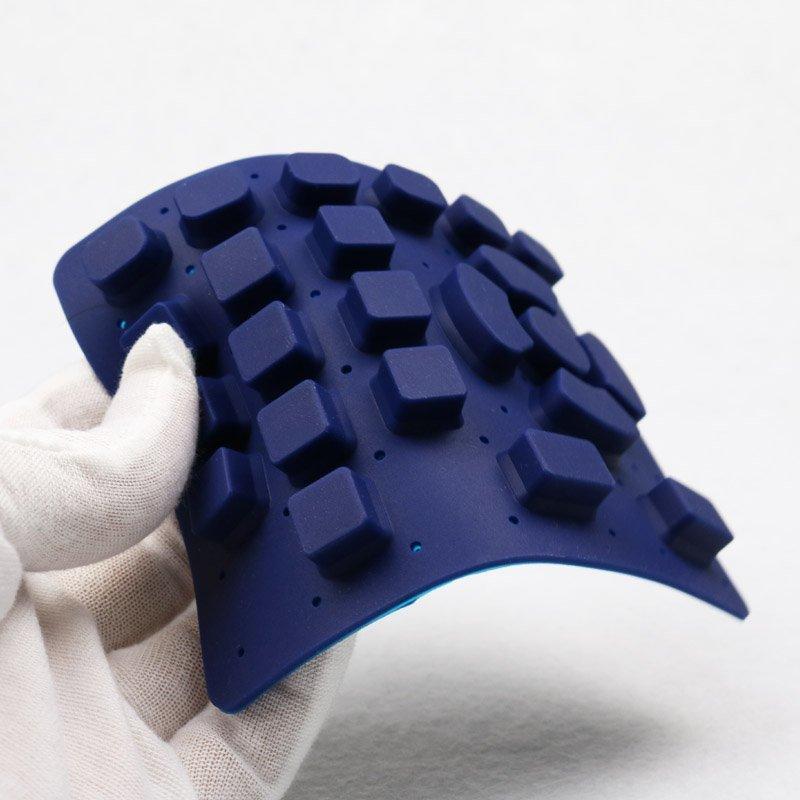 Eléctrica de silicona prototipo rápido