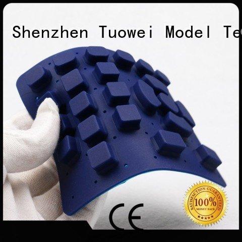 silicone vacuum casting prototype factory factory for plastic Tuowei