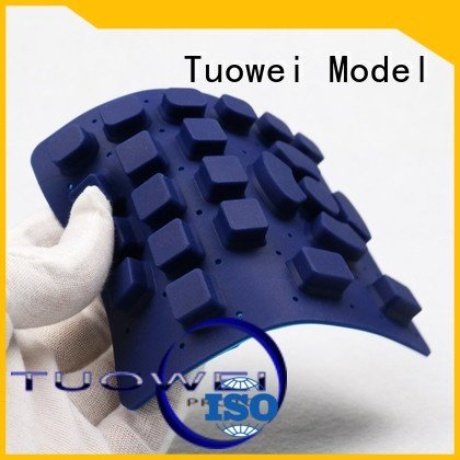 Tuowei rubber vacuum casting process in rapid prototyping mockup