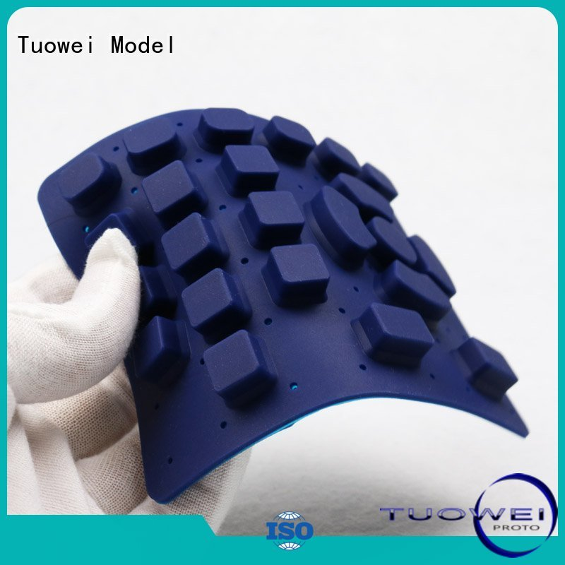Tuowei rapid electrical silicone prototype internet for plastic