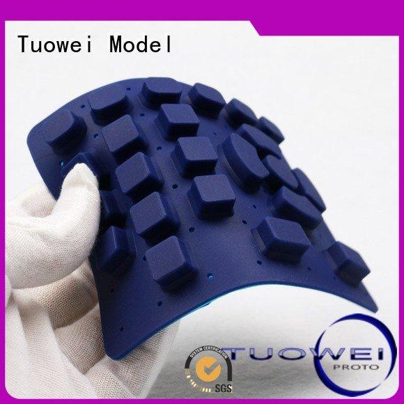 Tuowei rubber vacuum casting rapid prototype factory for aluminum