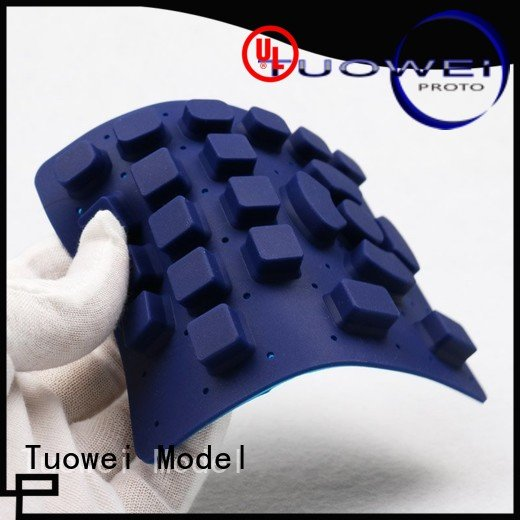 Tuowei silicone silicone mold making service design for plastic