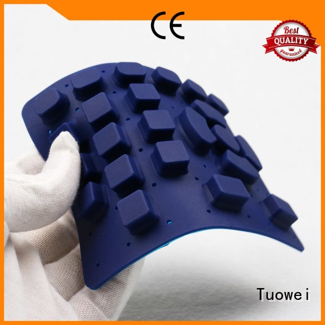 Tuowei electrical silicone prototype band electrical prototype textiles