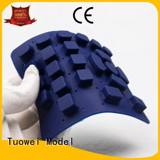 abs testing electrical silicone prototype tumbler Tuowei Brand company