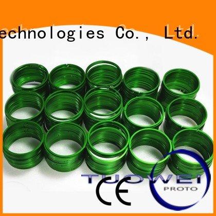 Tuowei prototyping rapid prototyping equipment customized for aluminum