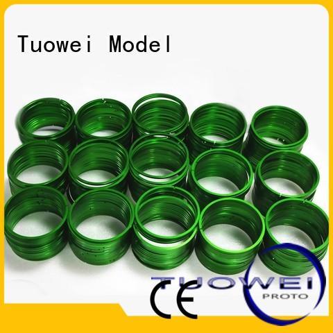 Tuowei rings custom machined aluminum design for metal