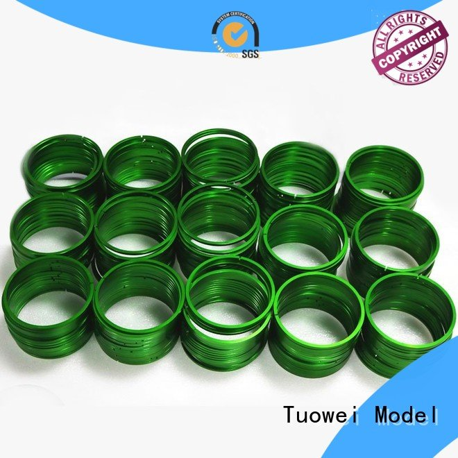 aluminum rapid prototype shell for plastic Tuowei