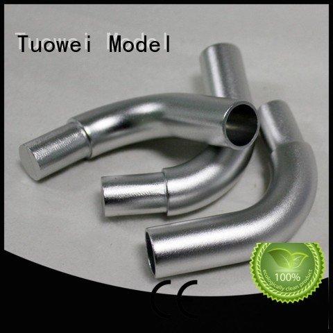 communication aluminium prototype machining parts for industry Tuowei