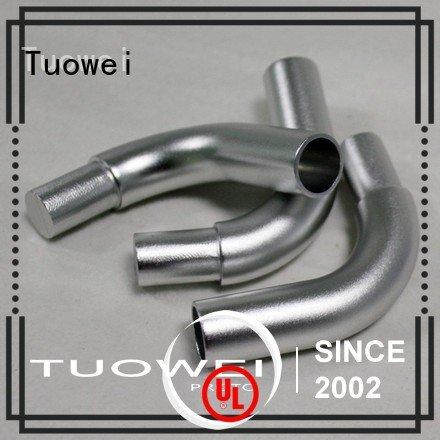 Tuowei remotecontrolled cnc aluminum rapid prototype factory design