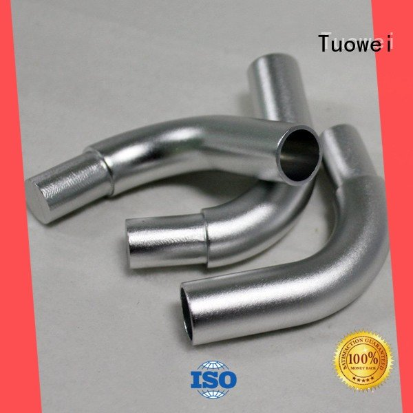 frame aluminum alloy machined parts factory equipment for plastic Tuowei