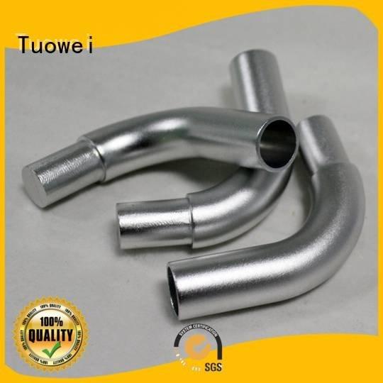 Tuowei Brand cnc small batch machining precision parts prototype rapid communication
