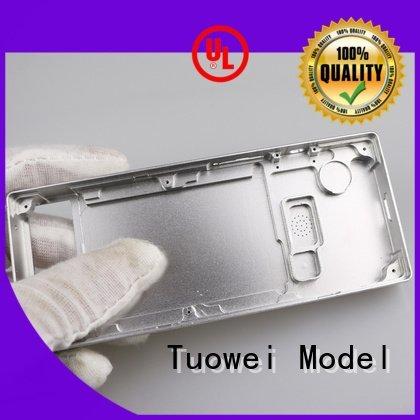 testing lock milling small batch machining precision parts prototype Tuowei