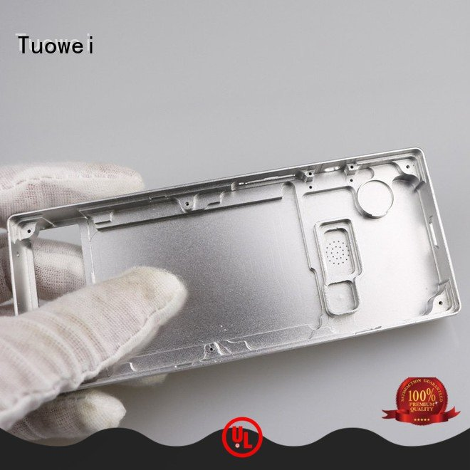 Tuowei shell aluminum parts for testing equipments prototype design for industry
