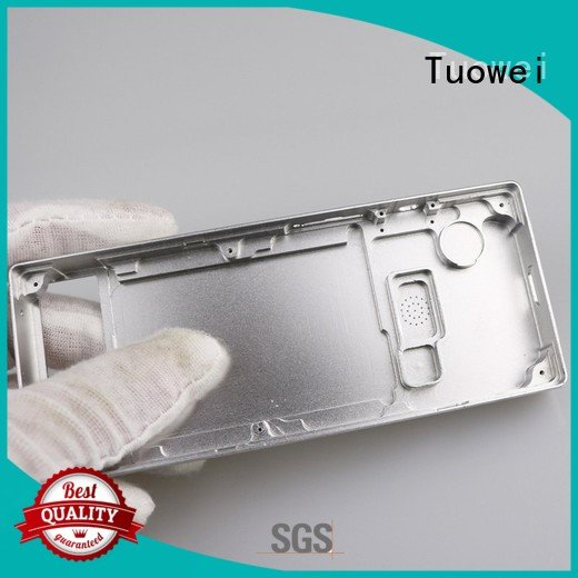 frame cnc prototyping aluminium service parts for industry Tuowei