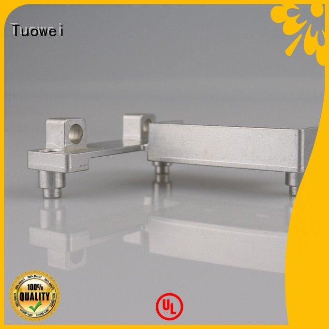 cnc machining aluminum parts prototype communication for metal Tuowei