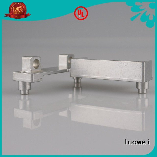 box aluminum parts for testing equipments prototype design for metal Tuowei