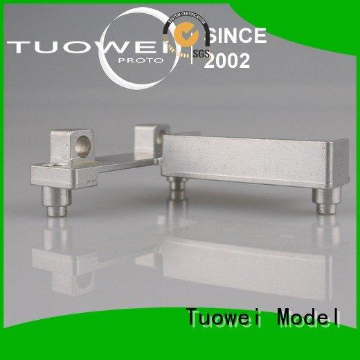 Tuowei rapid cnc prototyping aluminium service supplier